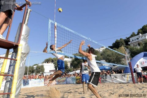 beach volley san Menaio